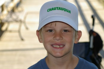 Young Jack in his favorite hat