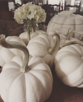 Beautiful real pumpkins!
