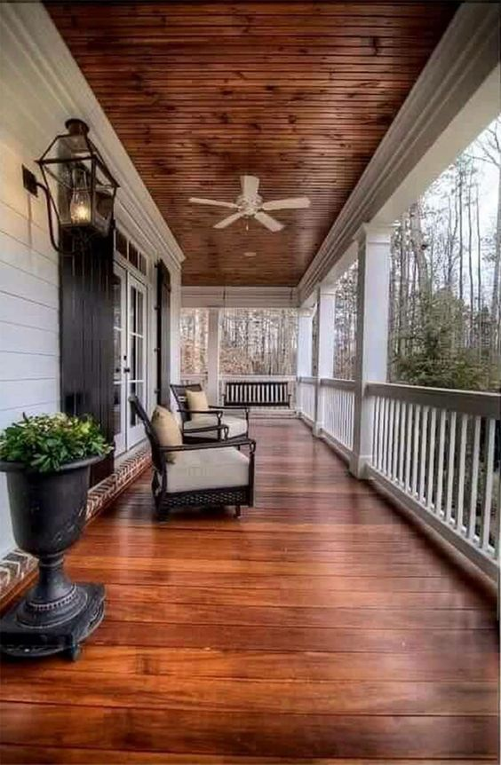 Porch ceiling idea