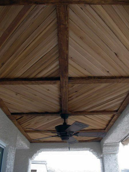 porch ceiling pattern